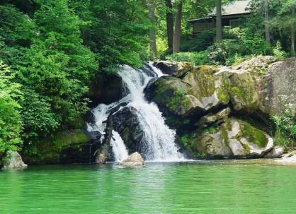 norton falls on lake glenville