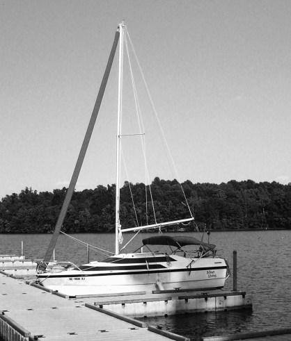 Sailboat B & W