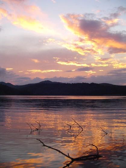 Sunset on Glenville